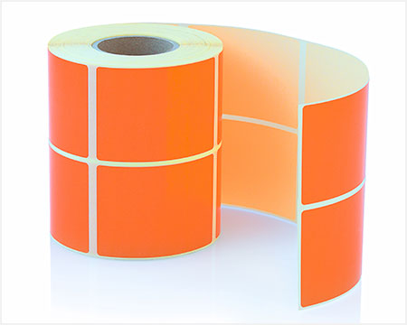 Labels and food packaging pressure sensative adhesive